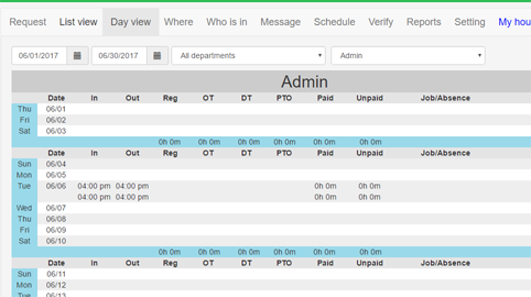 Timeclockfree Com Web Based Free Online Time Clock